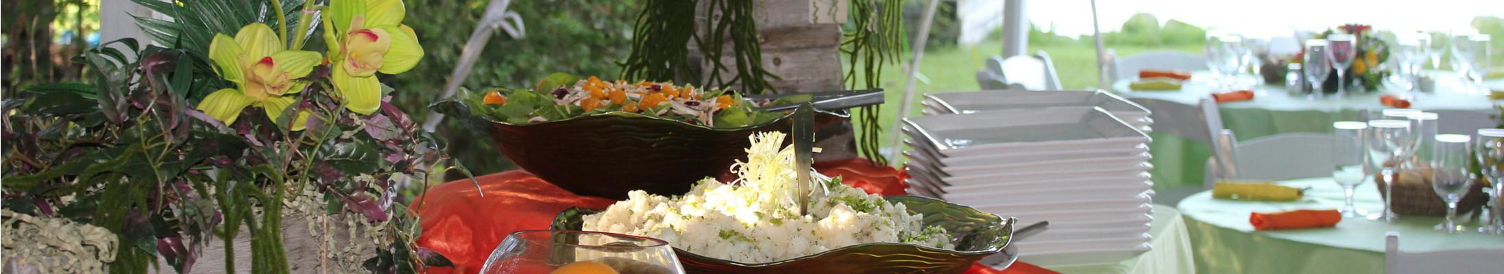 Caledon Buffet Wedding tables