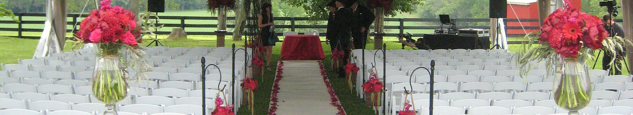 Caledon garden wedding