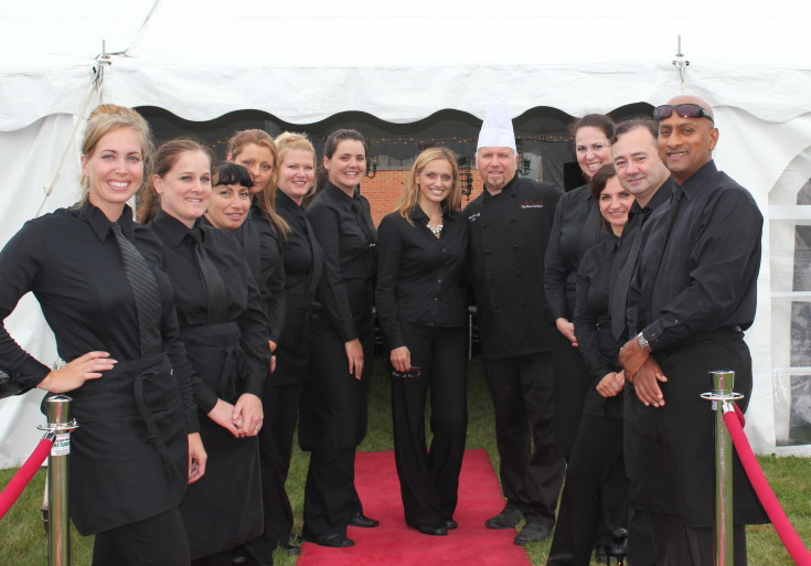 Catering staff for your catering menus