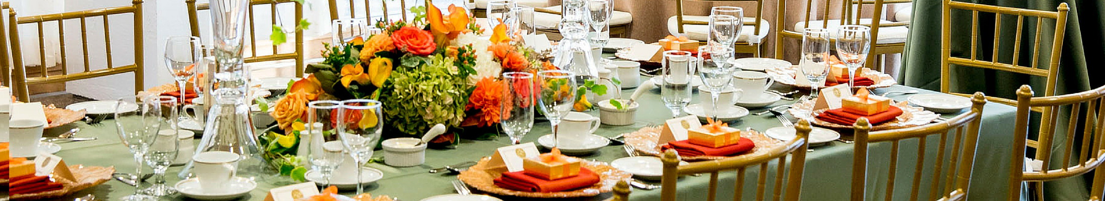 Caledon autumn wedding catering designs